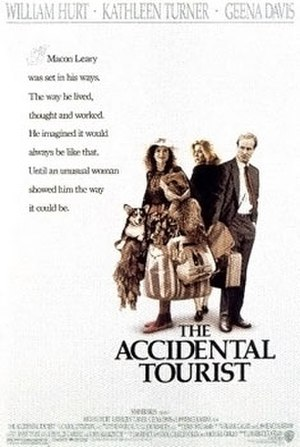 The Accidental Tourist (film) - Image: The accidental tourist