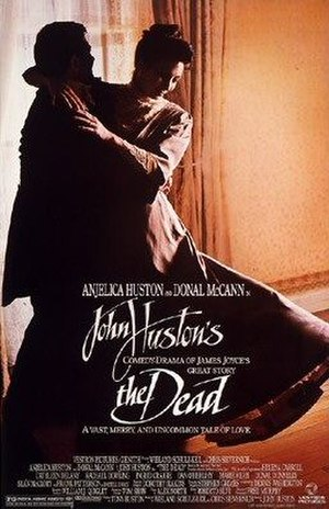 The Dead (1987 film) - Theatrical release poster