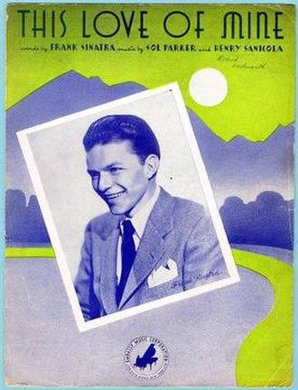 This Love of Mine - 1941 sheet music cover, Embassy Music, New York