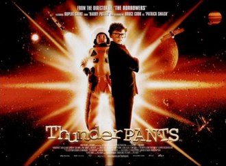 Thunderpants - Theatrical release poster
