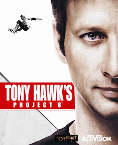 Picture of a game: Tony Hawk's Project 8