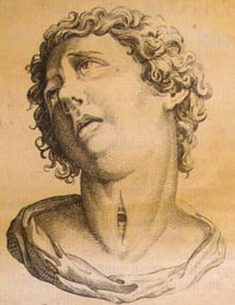 History of tracheal intubation - This portrait, though undated, supports the view that tracheotomy was practiced in ancient history