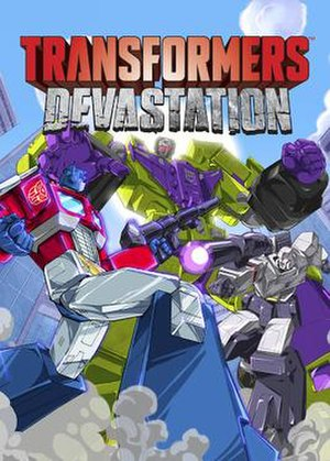 Transformers: Devastation - Image: Transformers Devastation cover art
