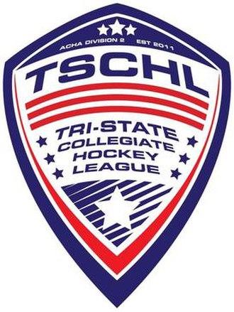 Tri-State Collegiate Hockey League - Image: Tri State Collegiate Hockey League Logo 2018