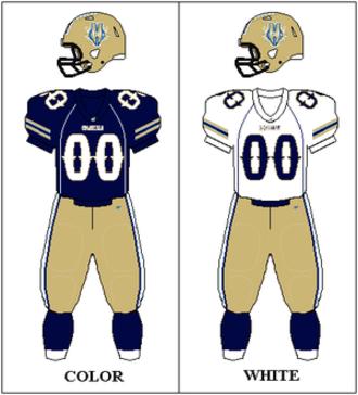 Hartford Colonials - Image: UFL Uniform HAR