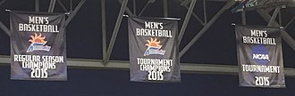 2014–15 North Florida Ospreys men's basketball team - Image: UNF Banners