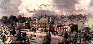 University College School - University College School, Frognal, Hampstead in the early twentieth century