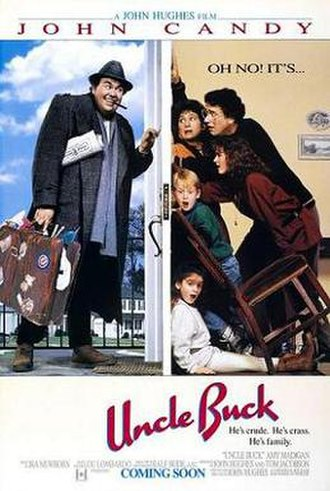 Uncle Buck - Theatrical release poster