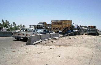 Mabey Logistic Support Bridge - US Army Mabey Logistic Support Bridge Iraq
