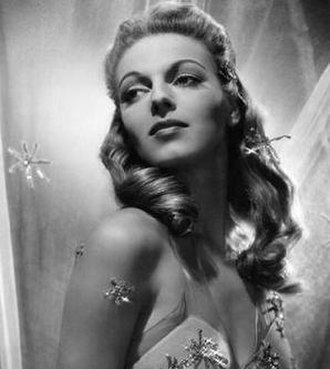 Vera Zorina - publicity photo for Star Spangled Rhythm 1942