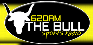 "WDNC - Logo as ""620 The Bull"", 2005-09"