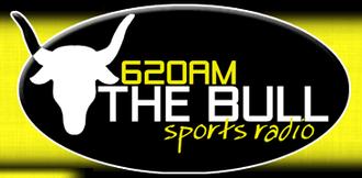 "WDNC - Logo as ""620 The Bull"", 2005-09"