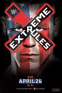 Extreme Rules (2015) 2015 WWE pay-per-view and WWE Network event