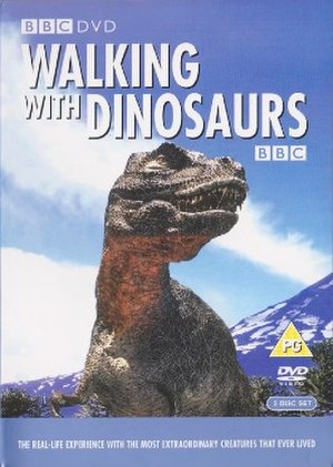 Walking with Dinosaurs - The official DVD cover of Walking with Dinosaurs