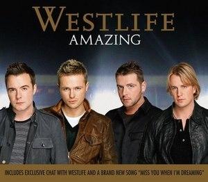 Amazing (Westlife song) - Image: Westlife Amazing