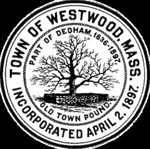 Westwood, Massachusetts - Image: Westwood MA seal