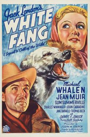 White Fang (1936 film) - Theatrical release poster