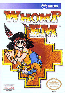 <i>Whomp Em</i> 1990 video game