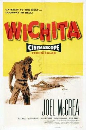 Wichita (1955 film) - Image: Wichita poster