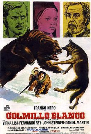 White Fang (1973 film) - Film poster