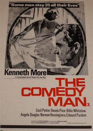 The Comedy Man - UK campaign book cover