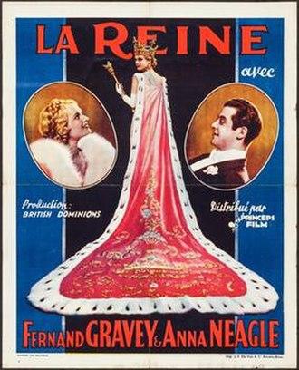 The Queen's Affair - Belgian poster