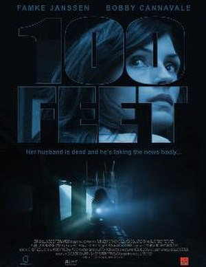100 Feet - Theatrical release poster