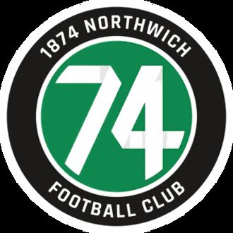 1874 Northwich F.C. - Image: 1874 Northwich FC badge (new)