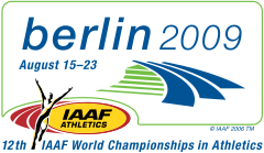 2009 World Championships in Athletics logo.svg