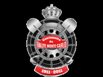 Monte Carlo Rally - 1911–2011 Centenary logo