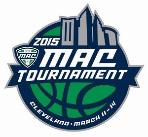 2015 MAC Men's Basketball Tournament - Image: 2015 MAC B Ball Logo