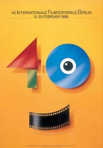 40th Berlin International Film Festival - Festival poster
