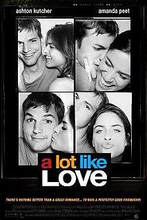 <i>A Lot like Love</i> 2005 film by Nigel Cole