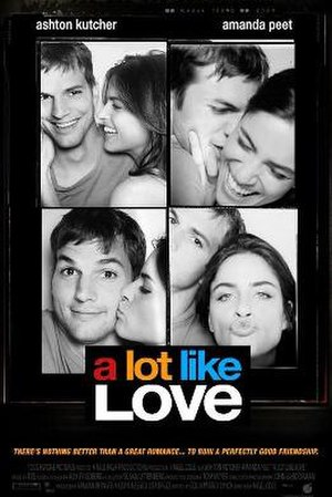 A Lot like Love - Original poster