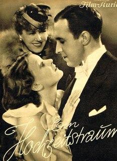 <i>A Wedding Dream</i> 1936 film directed by Erich Engel