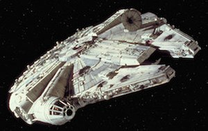 Millennium Falcon - The Millennium Falcon in Star Wars