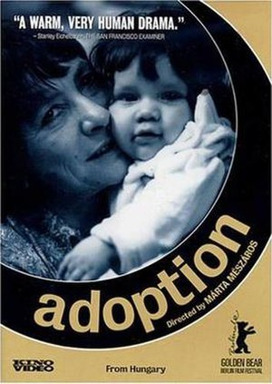 Adoption (film) - Video release poster