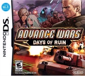 Advance Wars: Days of Ruin - Image: Advance Wars 4 Cover