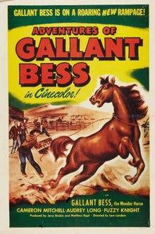 Aventuroj de Gallant Bess FilmPoster.jpeg