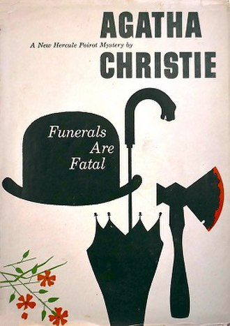 After the Funeral - Dust-jacket illustration of the US (true first)