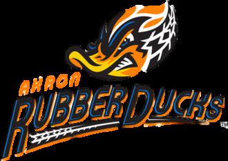 Akron RubberDucks - Image: Akron Rubber Ducks