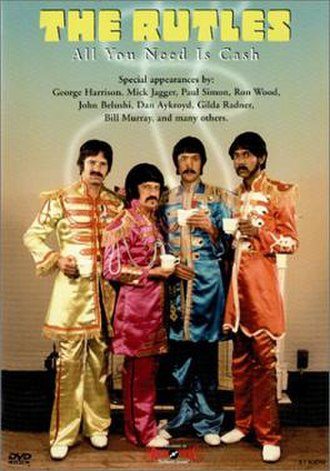 All You Need Is Cash - DVD cover