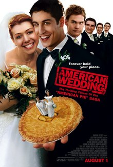 The Infamous Pie From The First Movie Takes The Place Of A Traditional Wedding Cake