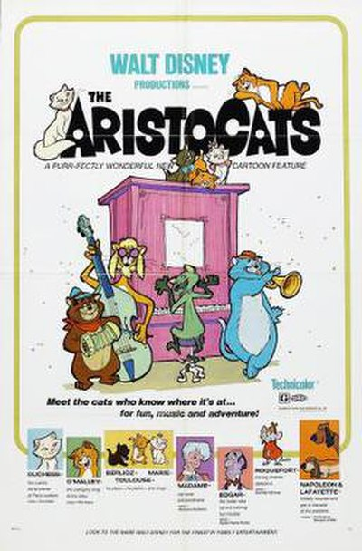 Picture of a movie: The Aristocats