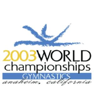 2003 World Artistic Gymnastics Championships - Logo
