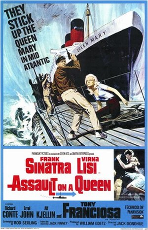 Assault on a Queen - Theatrical release poster