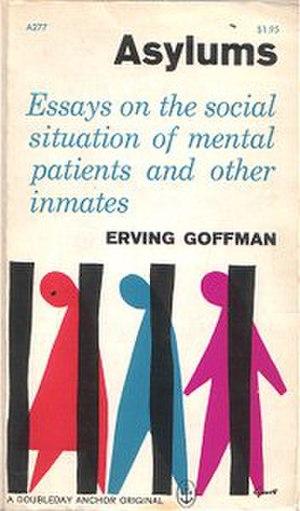 Asylums (book) - Image: Asylums (book)