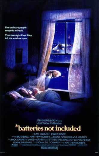 Batteries Not Included - Theatrical release poster by Drew Struzan