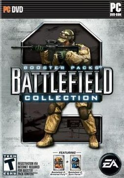 Battlefield 2 Booster Packs box cover