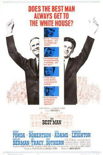 The Best Man (1964 film) - theatrical poster
